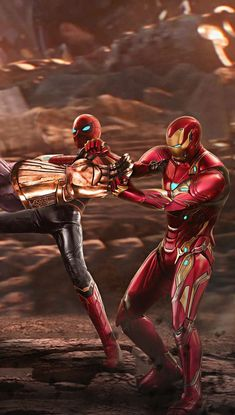 Spider-Man & Iron Man, Avengers Infinity War Marvel Avengers, Iron Man Avengers, Marvel Comics, Captain Marvel, Marvel Fanart, Films Marvel, Iron Man Spiderman, Marvel Heroes, Marvel Characters