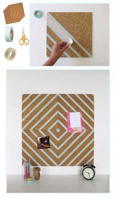 30 hermosas ideas para decorar con cinta adhesiva Washi Tape. | Mil Ideas de…