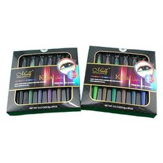 6 Pcs/Box Kajal Colorful Waterproof Eye Liner Pencils Price:$10.99 Discount code:ODIPCCYVNYMW