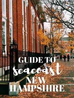 Guide to Seacoast New Hampshire | Portsmouth Guide