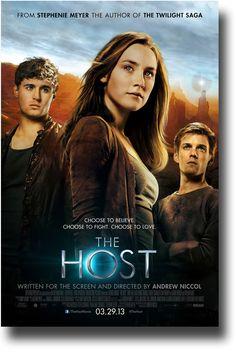 The Host Poster - 2013 movie Stephanie Meyer Saoirse Ronan