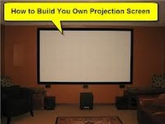 Turn Your Wall into an Awesome DIY Projector Screen for Less Than $50