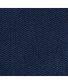 Non-Iron Dark Navy Herringbone Classic Fit Shirt – Single Or Double Cuff…