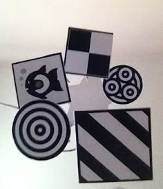 The Not So Secret Musings of a Mum: DIY Project: Black & White Baby Mobile