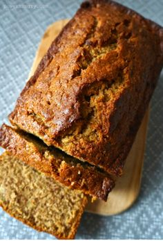 """Chickpea Flour Banana Bread {Gluten-Free, Grain-Free} 