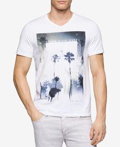 Calvin Klein Jeans Men s Graphic-Print T-Shirt Accesorios Hombre e4ee5e1ed3055