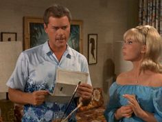 I Dream of Jeannie: Season Episode 3 The Second Greatest Con Artist in the World Sep. Larry Hagman, Barbara Eden, I Dream Of Jeannie, Episode 3, Favorite Tv Shows, My Dream, Two By Two, Seasons, Artist