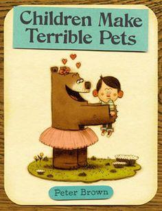 blog de i con i: ¡Los niños no son buenas mascotas!