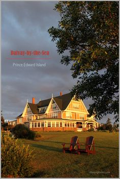 Dalvay-by-the-sea resort on Prince Edward Island 'White Sands Hotel in the Green Gables book, movie and Tv series