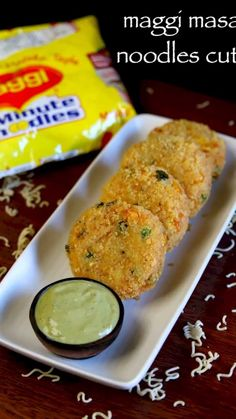 noodles cutlet recipe, maggi masala noodles cutlet, veg noodles cutlet with step by step photo/video. maggi recipes can be served as evening snack / patties Veg Cutlet Recipes, Pakora Recipes, Cutlets Recipes, Paratha Recipes, Chaat Recipe, Kulcha Recipe, Momos Recipe, Burfi Recipe, Paneer Recipes