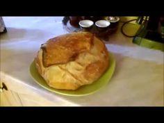 Házi kenyér dagasztás nélkül - Homemade bread - YouTube Hot Pot, Pancakes, Bread, Breakfast, Youtube, Food, Morning Coffee, Pancake, Breads