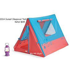American Girl Doll Sunset Sleepover Tent