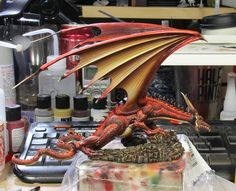Red dragon....