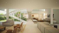 Casa Brasil, Alphaville, Barueri, SP. Projeto: Nitsche Arquitetos, 2015. Incorporação e construção: Yellowbrick Houses.
