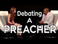 YouTube. Atheist vs Preacher JaclynGlenn 616,644 views