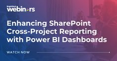 Enhancing SharePoint Cross-Project Reporting with Power BI Dashboards #SharePoint2019 #SharePoint2016 #SharePoint2013 #SharePoint #projectmanagement #projects #PPM #PMO #BrightWork #PPMsoftware #PowerBI #MicrosoftPowerBI #PowerBIdashboards #PowerBIreports #PowerBISharePoint #freewebinar Project Site, Portfolio Management, Dashboards, Project Management, First Step, Get Started, How To Get, Templates, Projects