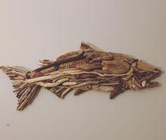 Driftwood Sculpture, Driftwood Art, Custom Art, Georgian, Rock Art, Art Gallery, Art Pieces, Fish, Unique