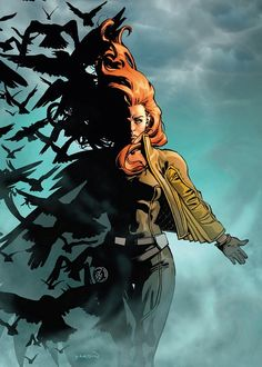 Theresa Maeve Rourke Cassidy, aka Siryn By David Yardin