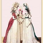 MORNING DRESSES, May 1794 from Gallery of Fashion vol 1
