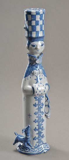 Ceramic figurine by Bjørn Wiinblad (Denmark, 1918-2006)