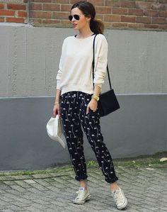 Blog Geovana Vitória: Calça Pijama