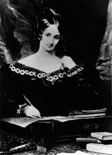 Mary Shelley, author of Frankenstein // Women's History Month