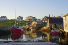 Timeless scenes in Peggy's Cove