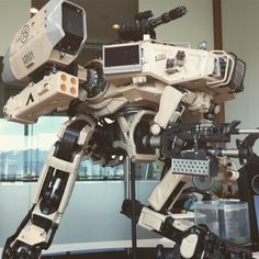 The Moose from #ChappieMovie by Weta Workshop #NeillBlomkamp