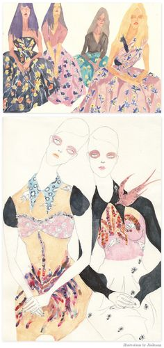 Inspired Artist:Jiiakuann - Home - Creature Comforts - daily inspiration, style, diy projects   freebies