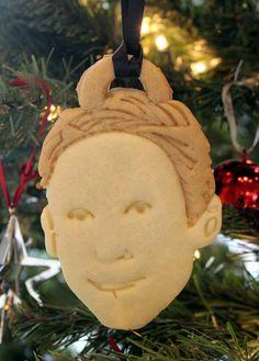 Ryan Gosling Cookie Ornaments l @nerdist