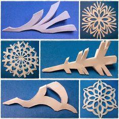 Ella en Louis: DIY Paper Snowflakes