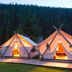 Check out this slideshow Clayoquot Wilderness Retreat in this list The Best Hotels in Canada