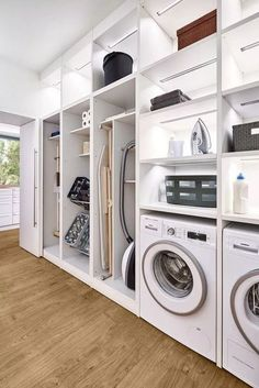 58 Stylish Laundry Room Design Ideas To Inspiring You > Fieltro.Net room ideas modern stylish laundry room design ideas to inspiring you 10 > Fieltro. Modern Laundry Rooms, Laundry Room Layouts, Laundry Room Remodel, Laundry Room Cabinets, Laundry Room Organization, Storage Organization, Storage Ideas, Storage Design, Basement Laundry