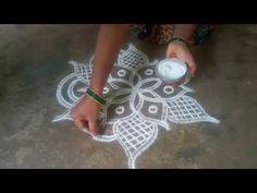 Karthika masam special//padi Kollam// pandaga muggulu//easy rangoli//24 - YouTube Small Rangoli Design, Rangoli Designs Images, Muggulu Design, Simple Rangoli, Blouse Designs, Make It Yourself, Lifestyle, Youtube, Art