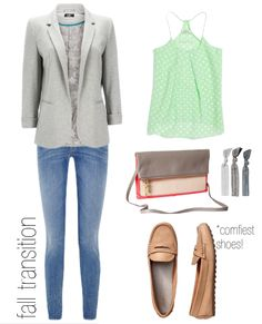 simple summer to fall outfit