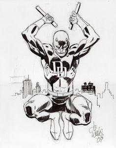 Daredevil by Lee Weeks * - Art Vault
