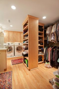 Washer And Dryer In Master Closet