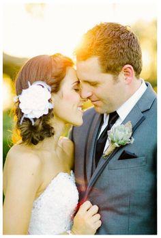 white wedding hair accessories