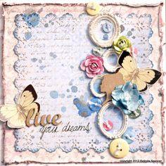 CRC #96 MAJA - Live Your Dreams Card