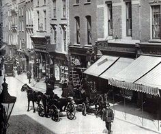 Grafton Street, Dublin in 1881 Ireland Pictures, Old Pictures, Old Photos, Vintage Photos, Dublin Street, Dublin City, Victorian London, Victorian Era, Irish Independence