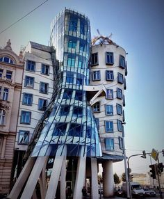 Dancing House by Frank Gehry #frankgehry by avant.arte http://discoverdmci.com