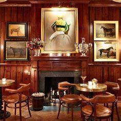 Ralph Lauren's Polo Bar Debuts In Manhattan : Architectural Digest