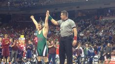 Boy with Down syndrome inspires at state wrestling tournament