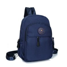 Details about Canvas Convertible Mini Small Sling Backpack ...
