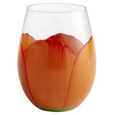I saw these Poppy Drinkware - Orange glasses in my local Pier 1 store and immediately picked one up!