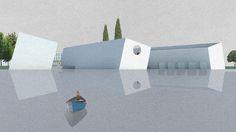 Concorso per l'Isola di Poveglia - Venezia / La vista delle caravelle dimenticate
