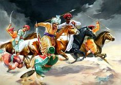 Maratha warriors