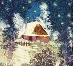 ), 'Prijdte K Nam, Muzikanti (Come to Us, Musicians), 1960 Andersen's Fairy Tales, Winter's Tale, Animation Film, Ethereal, Art Inspo, Childrens Books, Seasons, Watercolor, Pure Products