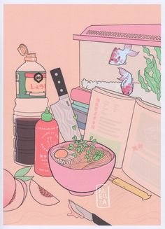 Ramen ~ illustration