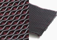 Matières ouvertes studio - textile 3d - pvc pour bagagerie